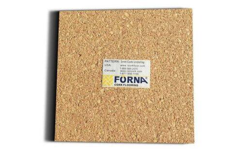 Cork underlayment 3mm sample