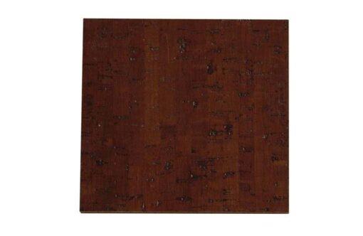 Espresso cork flooring sample