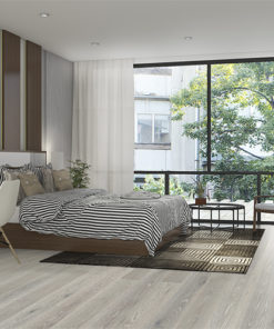 Horizon engineered hardwood flooring bedroom white oak wire brushed