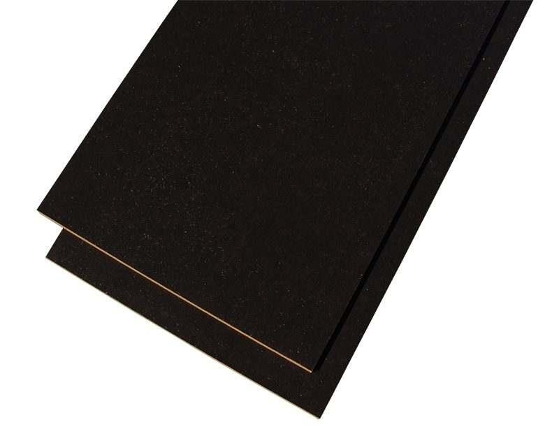 Jet-black forna black cork floor glue down tiles