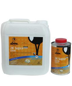 Loba 2K Supra AT wate based polyurethane no yellowing durable