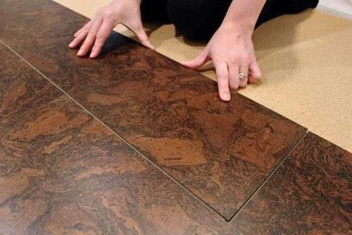 advantages of a cork floating floor over cork tiles
