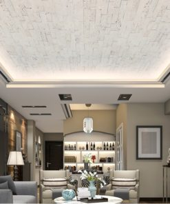 antico avorio peel and stick cork wall tiles ceiling