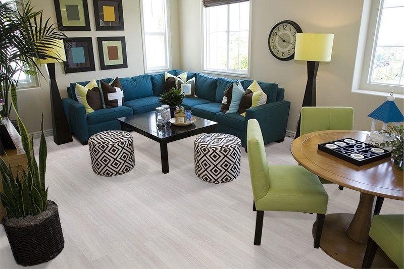 ash wood fusion cork floors contemporary home living room decor