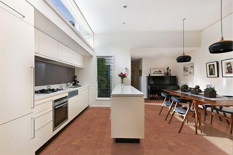 autumn leather cork kitchen modern floor