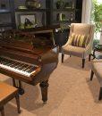 autumn leaves cork floors grand piano luxury home