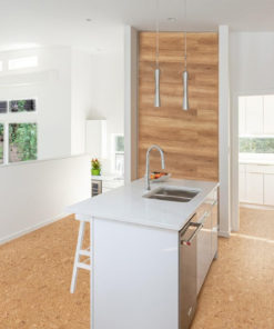 autumn leaves cork forna kitchen flooring new luxury home separate elegant kitchen island and counter
