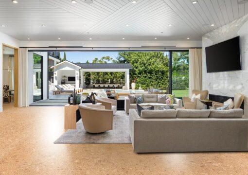 autumn leaves mansion cork floor best eco-friendly flooring options lowest environmental impact