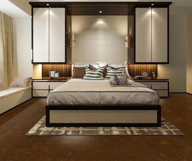 autumn ripple cork floor interior design arthritis pain relief