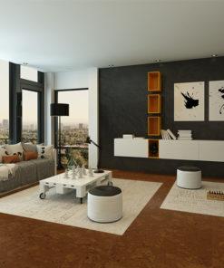 autumn ripple cork modern living room interior best floor for appartment