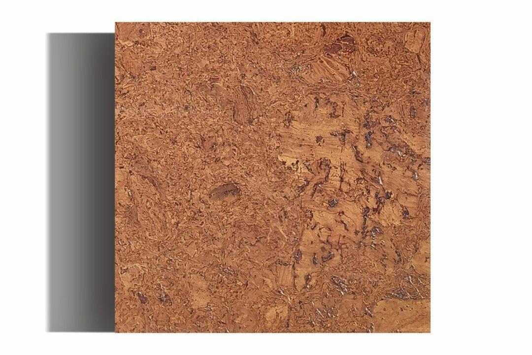 Autumn Ripple Cork Wall Tile Sample