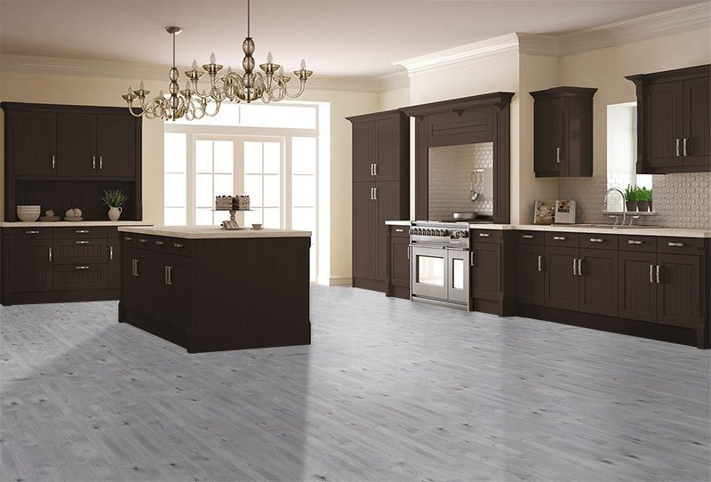 barn wood cork flooring modern kitchen magnificent