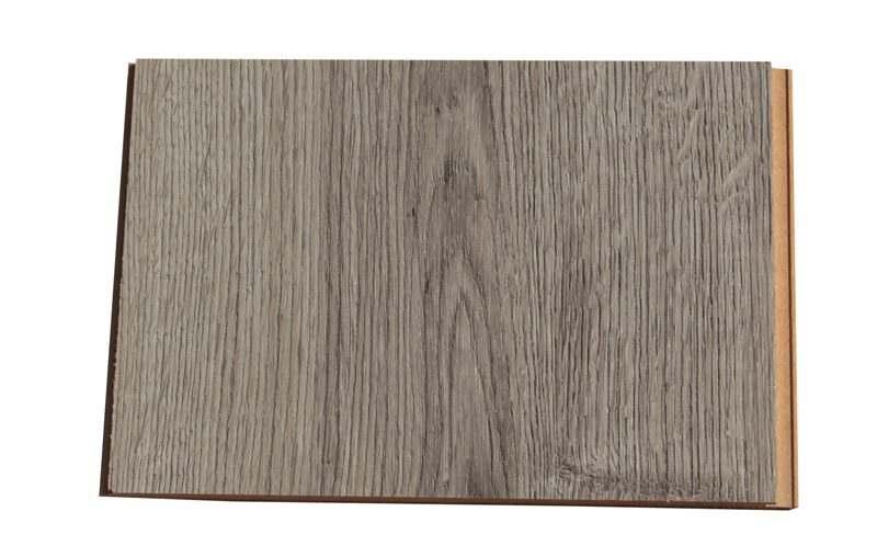 barn wood fusion cork flooring sample