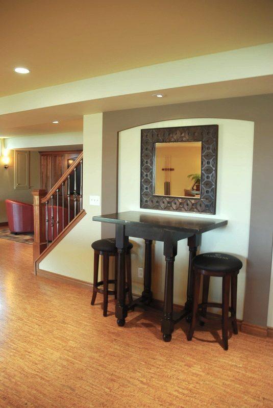 basement flooring ideas natural cork