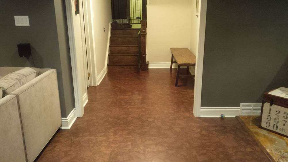Basement Renovations With Cork Flooring Cancork Floor