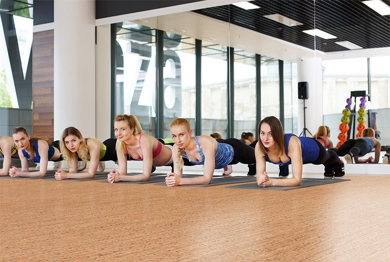 berber cork floor forna fitness club workout exercise aerobics training centre healthy lifestyle