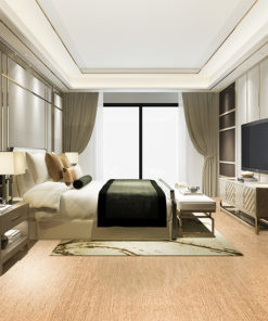 berber cork floor forna luxury bedroom interior