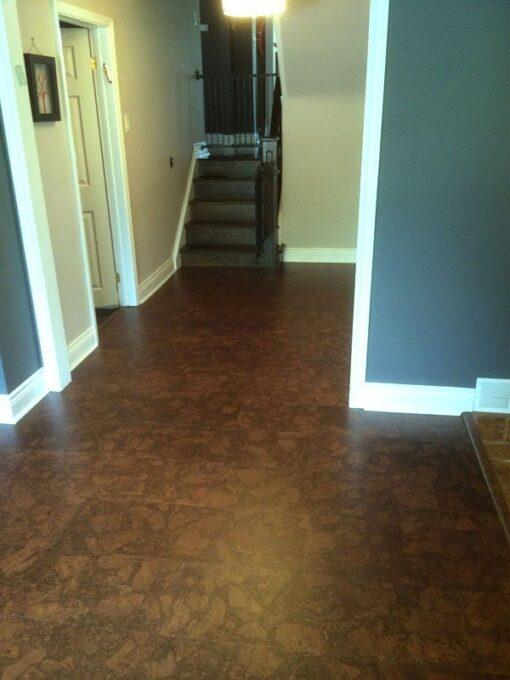 best basement flooring forna maple ripple cork