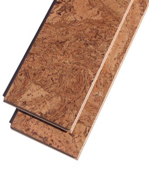 bevelled edge cork flooring ripple floating plank