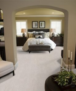 bleached birch cork floor interior design bedroom contemporary furniture decor