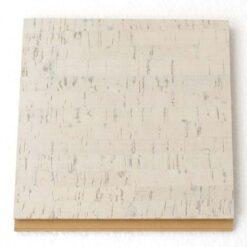 bleached birch forna cork tiles sample