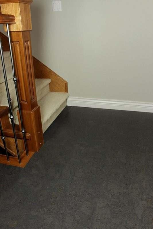 Blue Forna Cork Flooring Dolerite Ripple