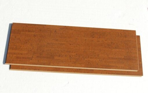 brown birch click cork flooring warm tones