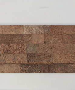 brown bricks cork wall panels tiles handmade wall acoustic