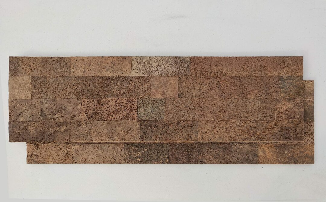Brown Bricks Cork Wall Panels Tiles