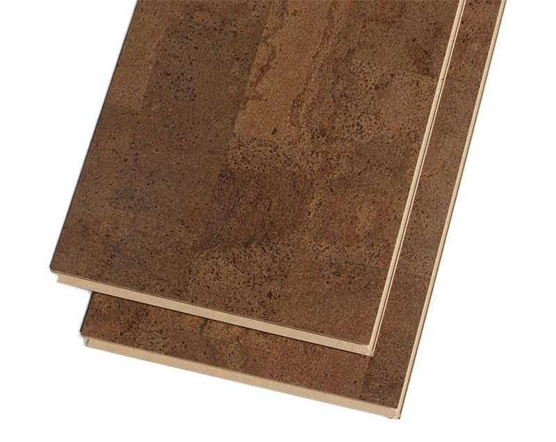 brown leather forna cork flooring click floating