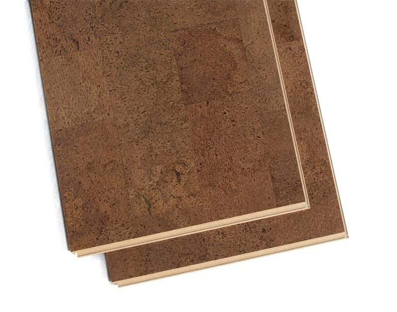 brown leather forna cork plank flooring click