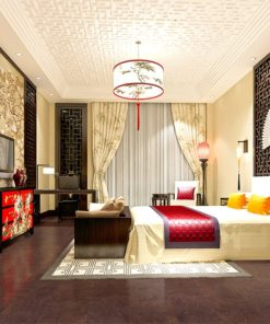 brown salami forna cork flooring asian style modern hotel room