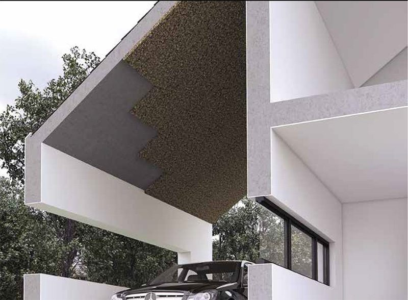 building and architecture cork applications therma insulation acoustic treatments
