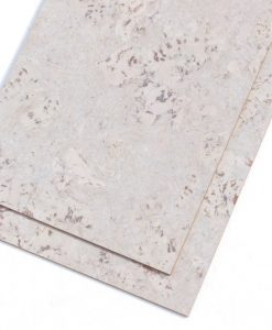 ceramic marble forna cork tiles glue down white colour