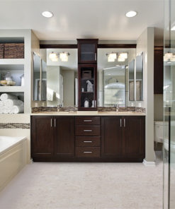 ceramic marble forna cork tiles master bath luxury home