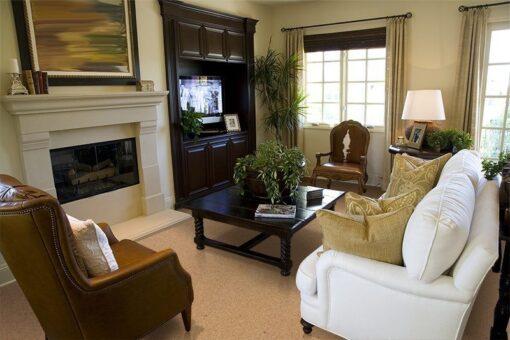 comfort cork living room flooring trends