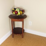 comfort flooring cork floating door way