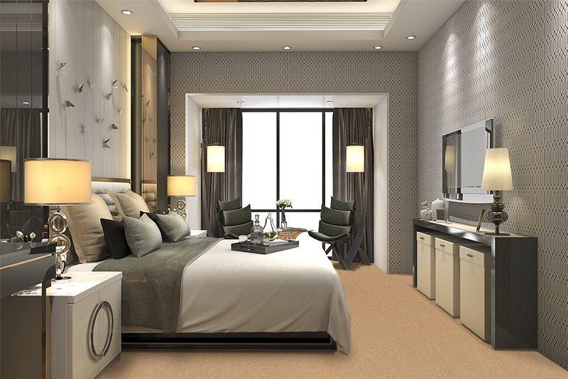 comfort forna cork floor luxury modern bedroom suite modern hotel