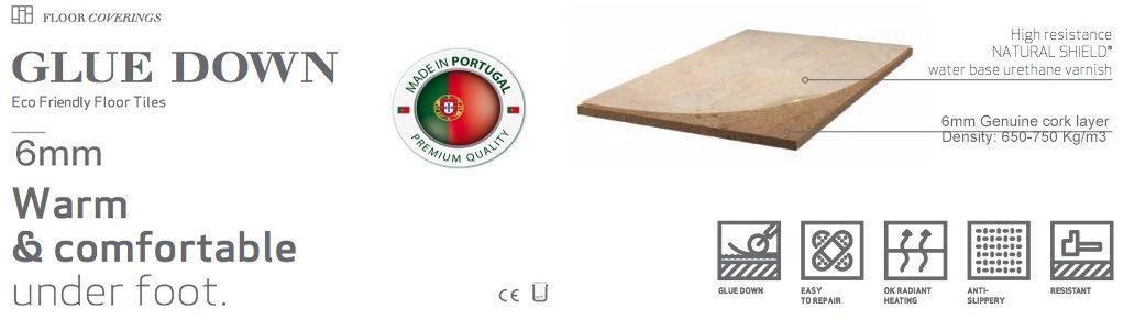 construction cork tiles 6mm