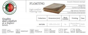 construction floating cork flooring fusion
