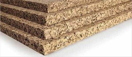 cork applications natural reduce noise material cork slab