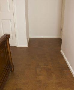 cork flooring autumn leather plank