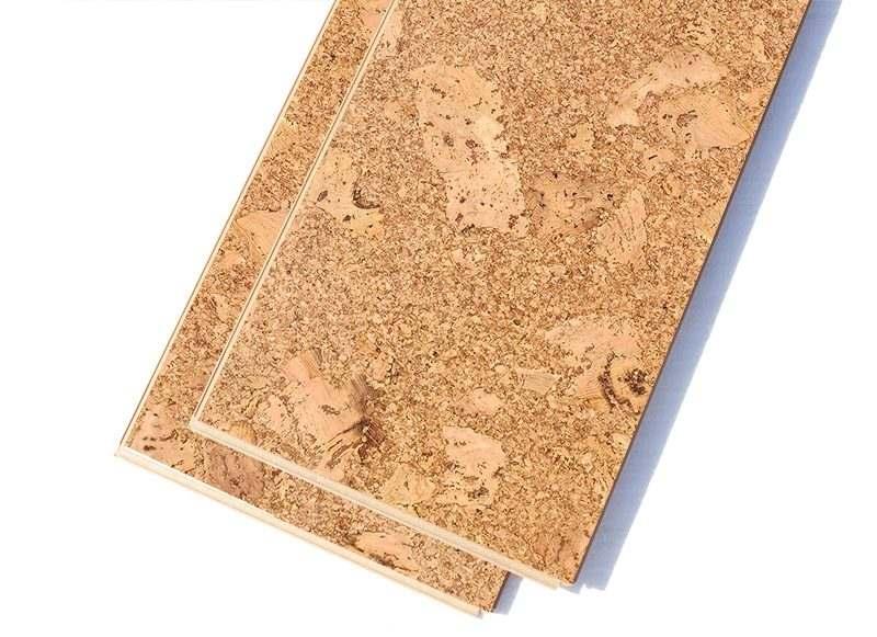 cork floor planks salami 12mm forna