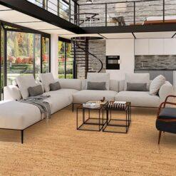 cork floor planks silver birch living room