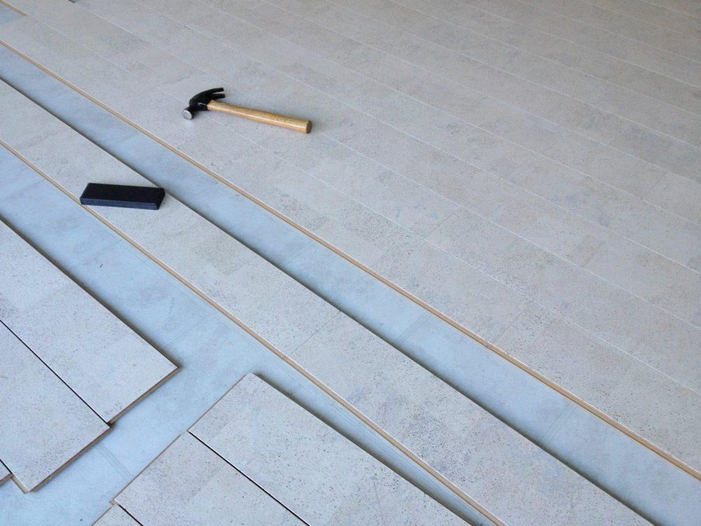 cork flooring installation
