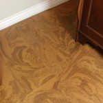 cork flooring planks caramel swirl basement