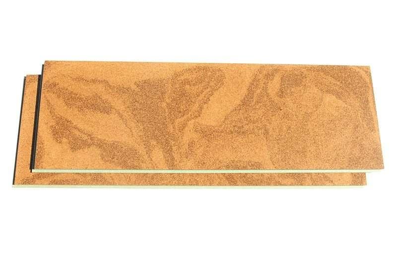 cork flooring planks swirl