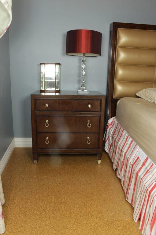 cork floors golden beach forna bedroom
