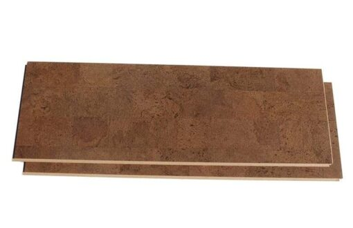 cork plank flooring brown leather forna