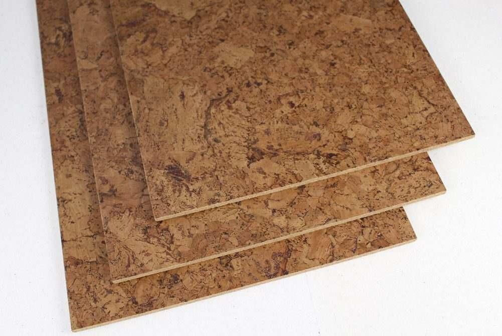 cork tile flooring foliage 1